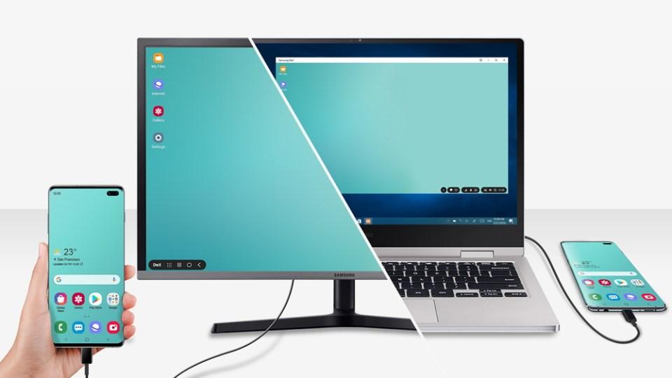 Samsung Galaxy S10 DeX for PC