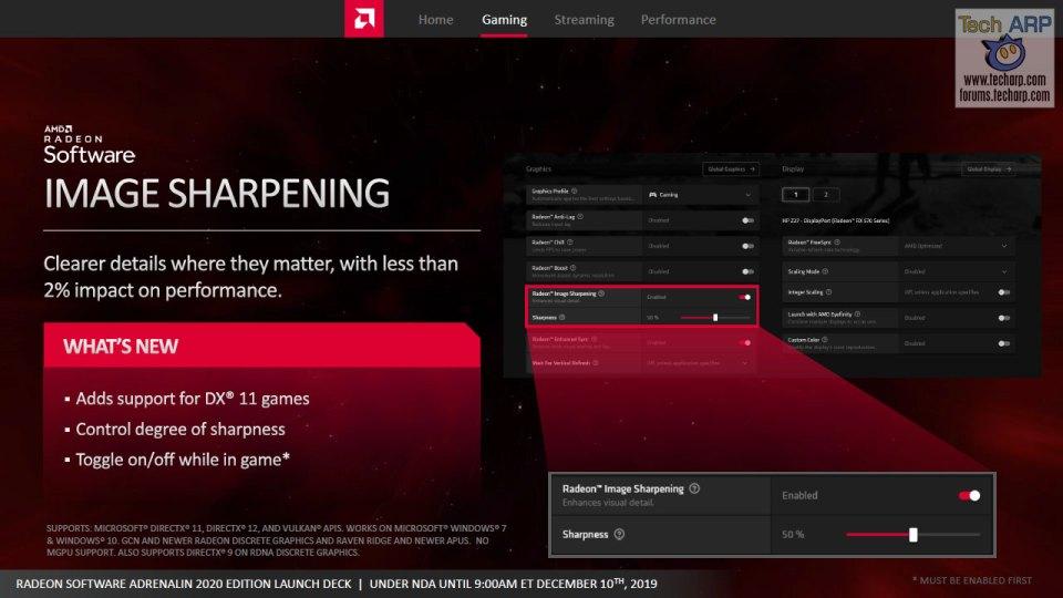 AMD Radeon Software Adrenalin 2020 Edition slide 21