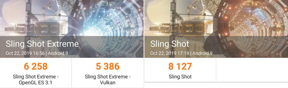 3DMark results