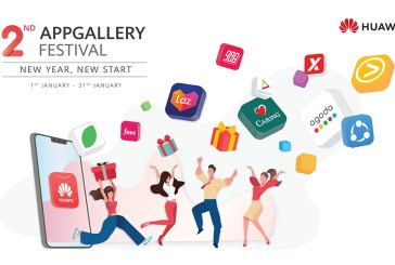 HUAWEI AppGallery Festival Freebies For January 2020!