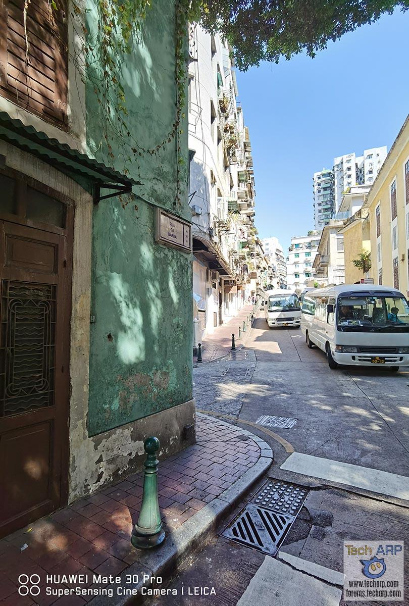 HUAWEI Mate 30 Pro - Rua da Barra, Macau 02