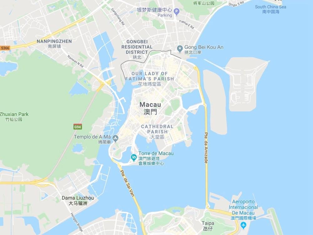 Peninsular Macau