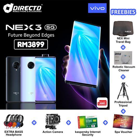 DirectD vivo NEX 3 5G promotion