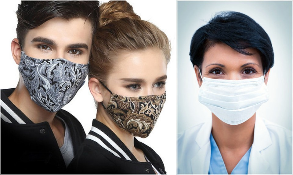 Face Mask vs Surgical Mask