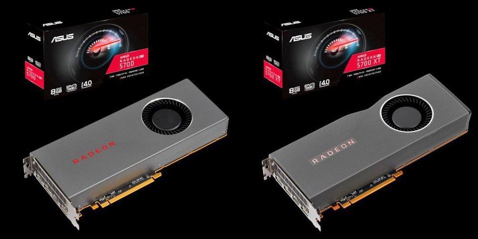ASUS Radeon RX 5700 reference designs