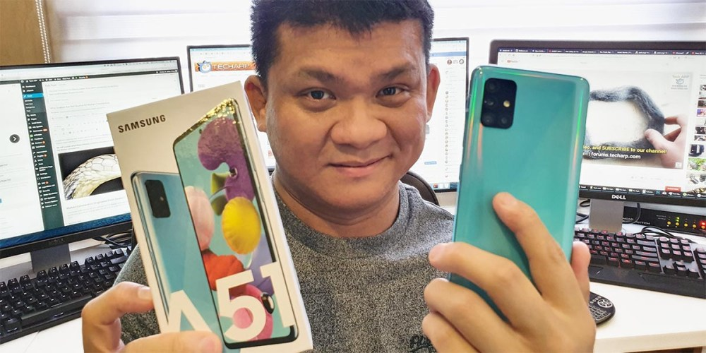 Samsung Galaxy A51 Unboxing : What Will We Find Inside?
