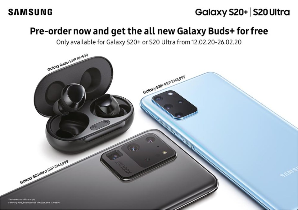 Galaxy S20 | S20+ | S20 Ultra Malaysia Pre-Order + Deal!