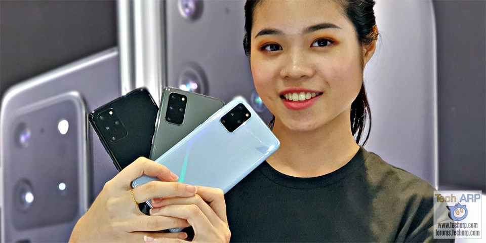 Samsung Galaxy S20 Plus Hands-On Preview : All 3 Colours!