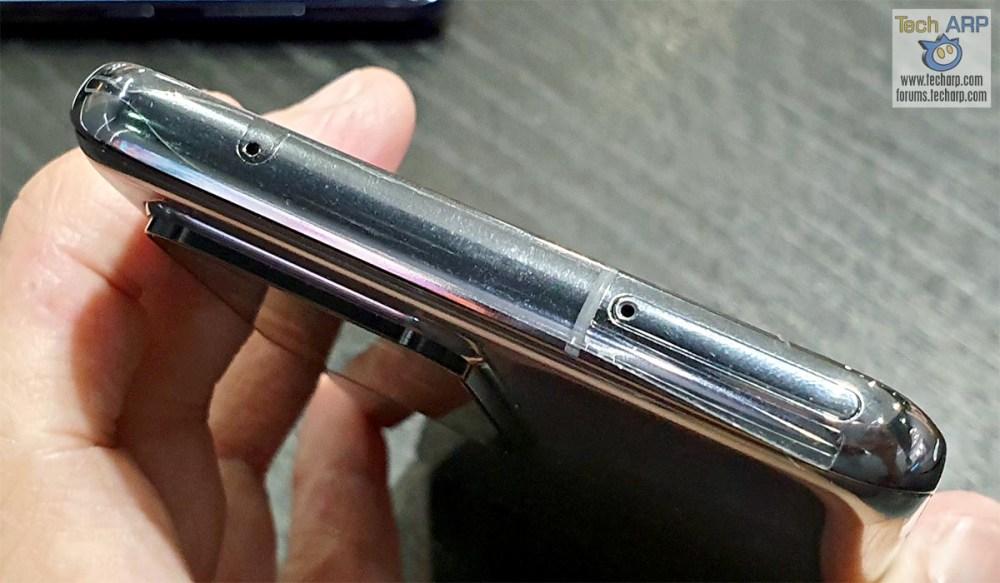 Samsung Galaxy S20 Ultra top