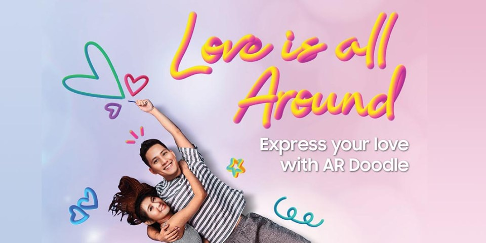 Samsung AR Doodle Contest : Love Is All Around!