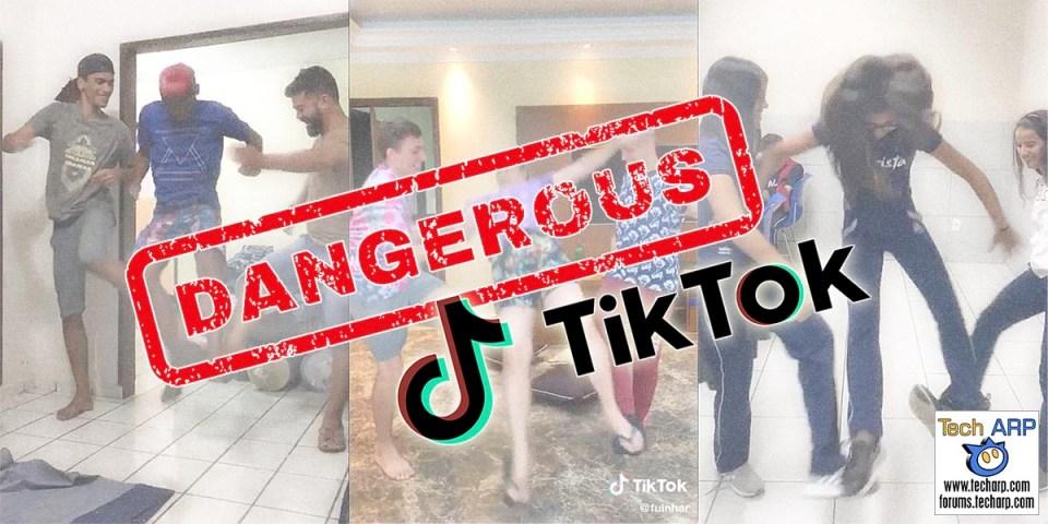 TikTok Bans Tripping Jump / Skull Breaker Challenge!