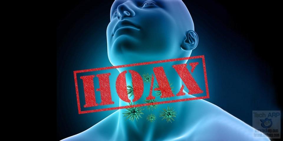 COVID-19 Coronavirus Gargling Hoax Debunked!