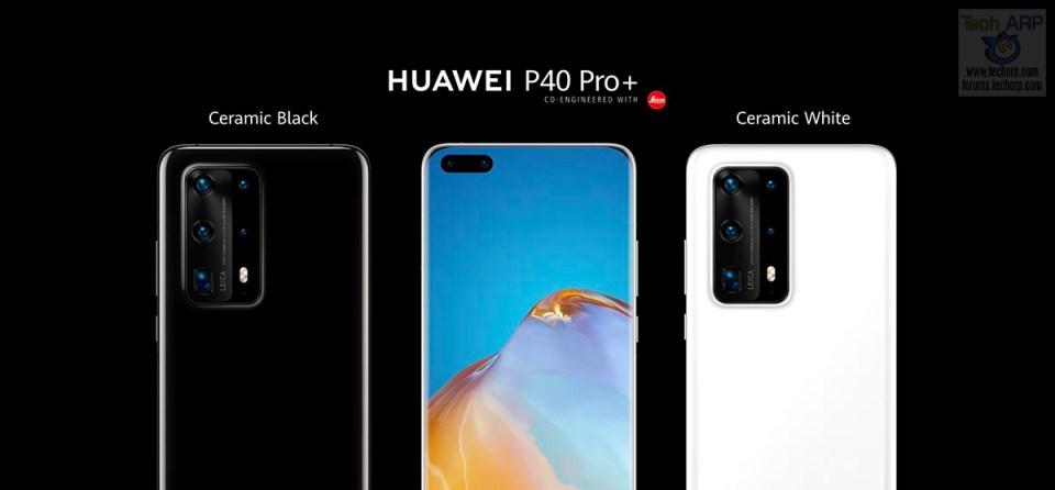 HUAWEI P40 Pro Plus colour options