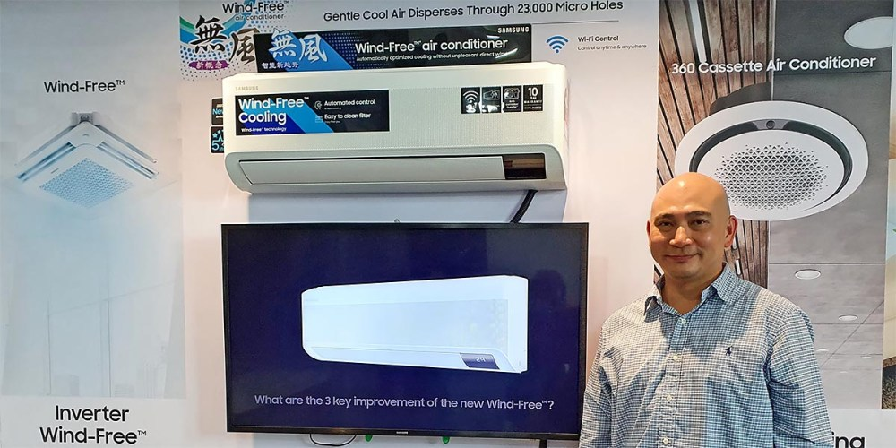 Samsung AR9500T Wind-Free Air Conditioner : Briefing + Demo!