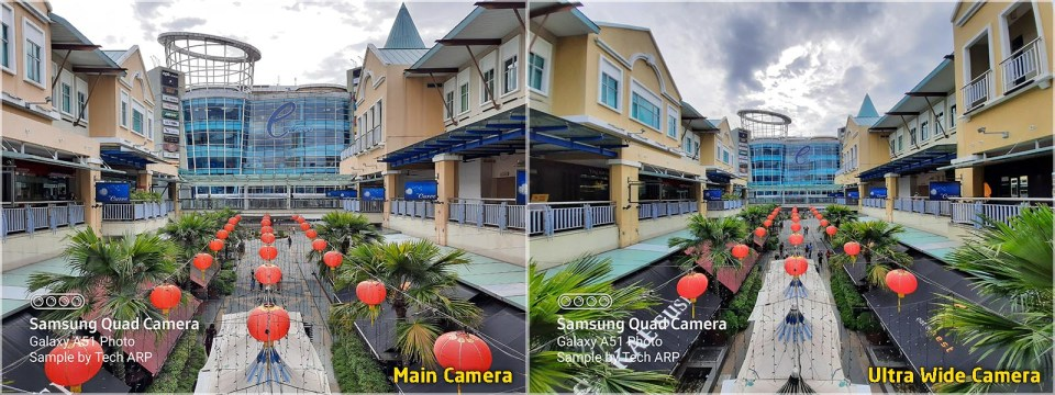 Samsung Galaxy A51 camera comparison 01