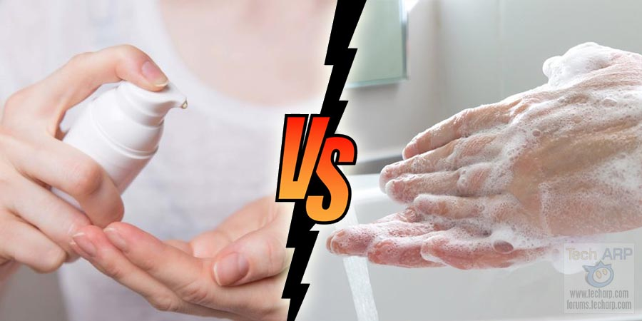 Soap vs Sanitiser : Which Works Better Against COVID-19?
