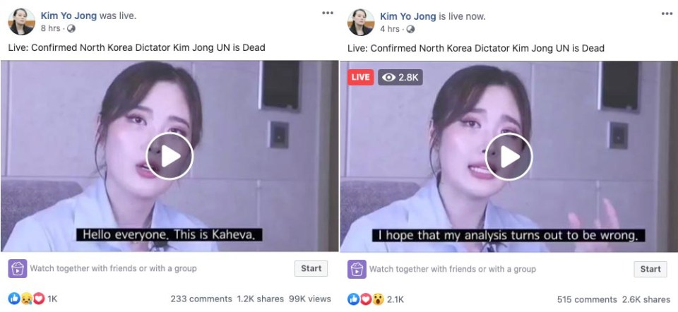 Kaheva Live Video Hoax