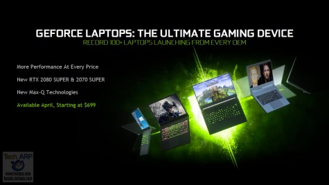 NVIDIA GeForce Spring 2020 Laptop Launch 07