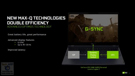 NVIDIA GeForce Spring 2020 Laptop Launch 16