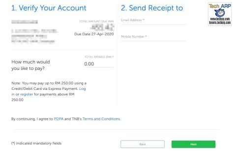 TNB Express Payment Tech ARP 02