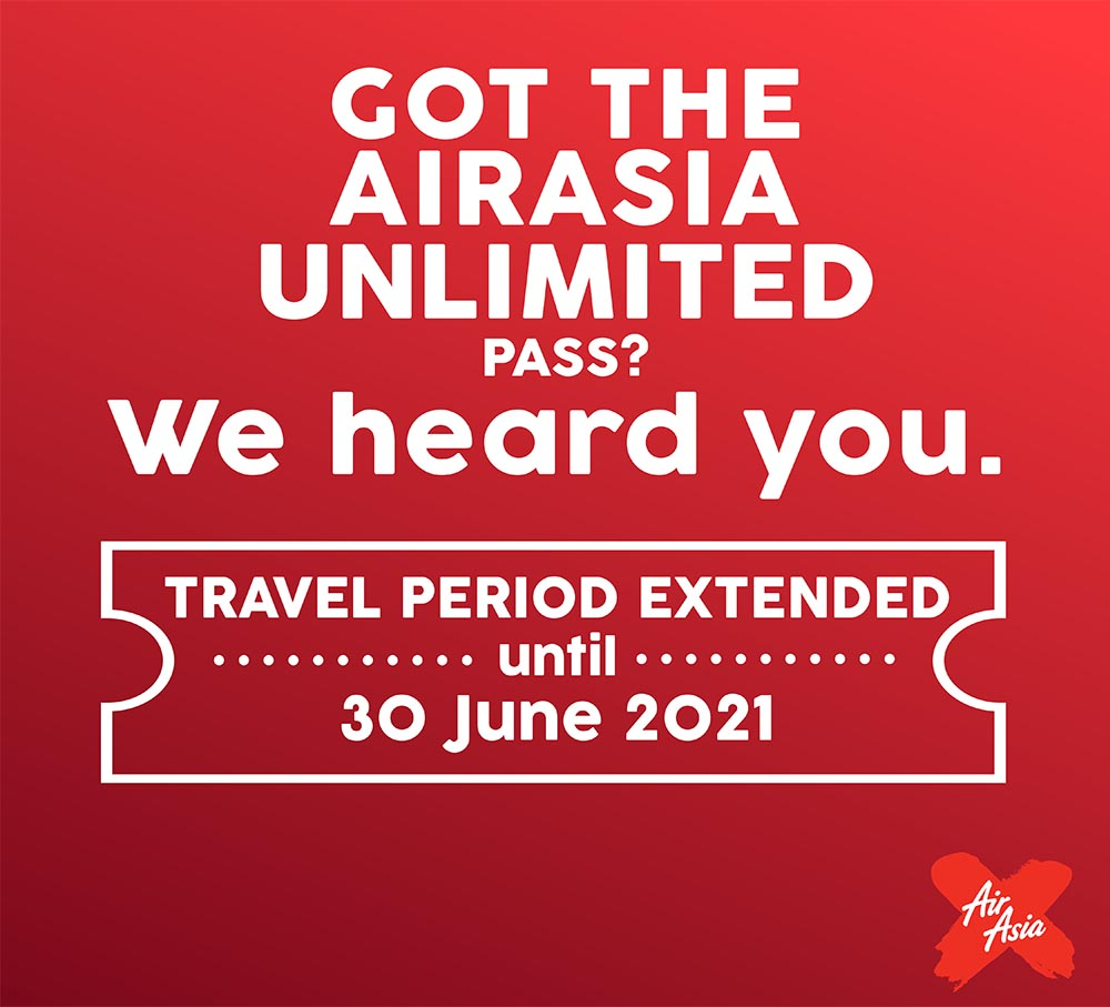 AirAsia Unlimited Extended