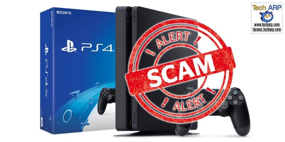 Scam Alert : Fake PS4 Promotions On Facebook!