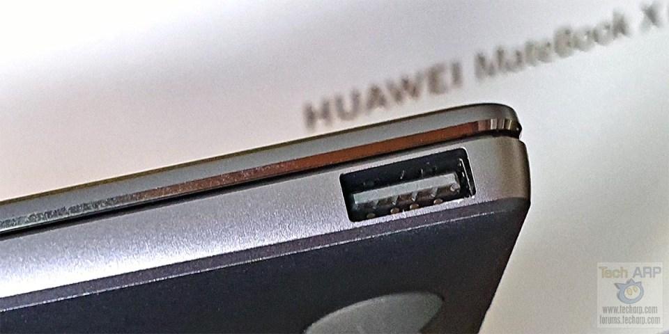 HUAWEI MateBook X Pro right side