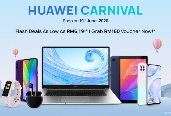 HUAWEI Carnival June 2020 Deals + Vouchers!