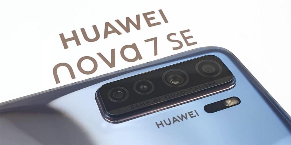 HUAWEI nova 7 SE Preview : Affordable 5G + 64MP Camera!