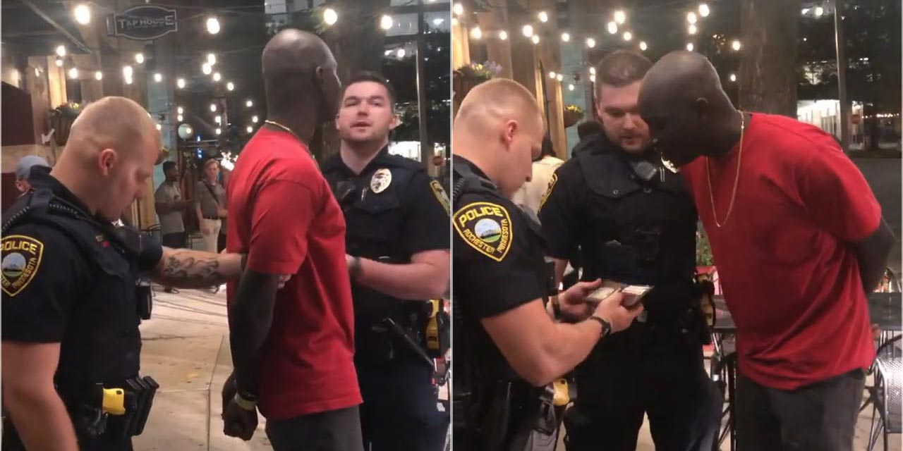 Fact Check : White Cops Arrest Black Man, Finds He's FBI!