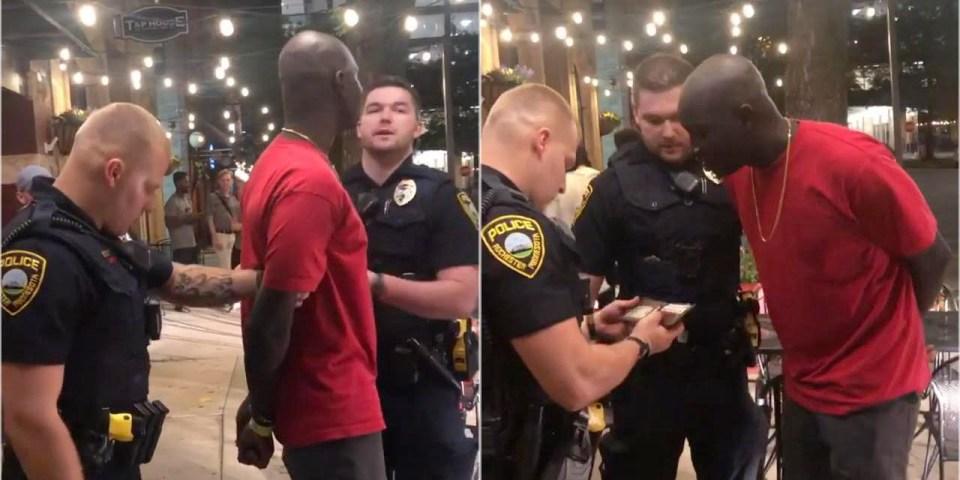 Fact Check : White Cops Arrest Black Man, Finds He's FBI!