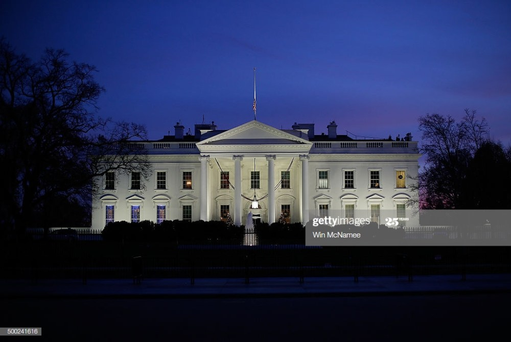 White House Lights Out original picture