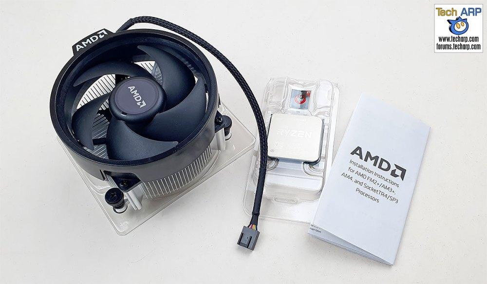 AMD Ryzen 5 3600XT box contents