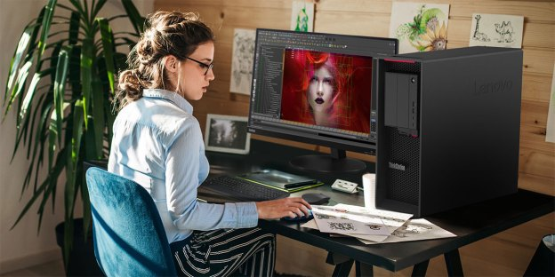 Lenovo ThinkStation P620 : Threadripper PRO Workstation!