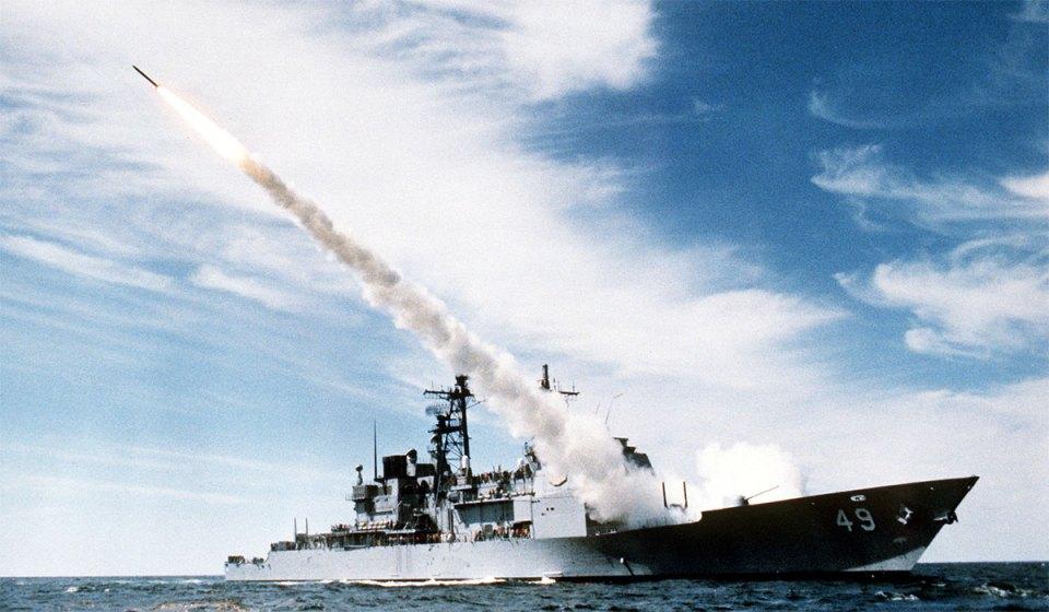 Ticonderoga Class Aegis Guided Missile Cruiser