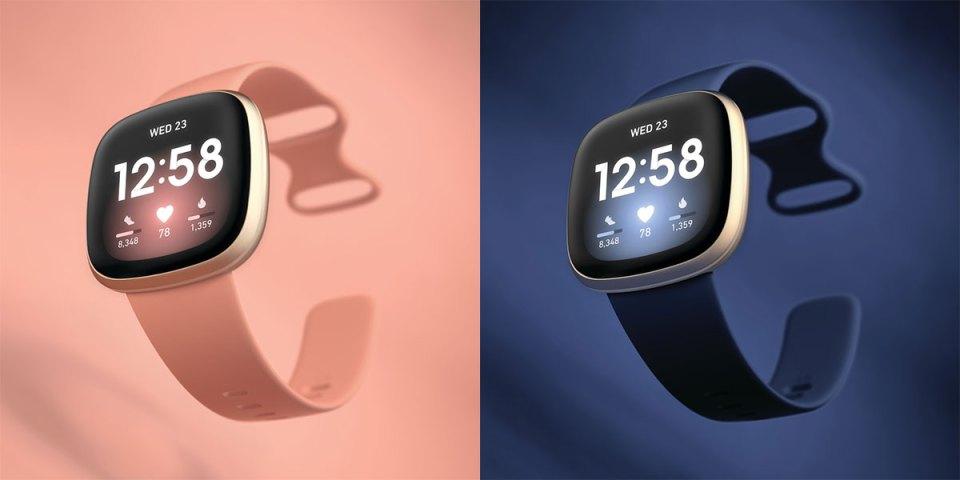 Fitbit Versa 3 colour options