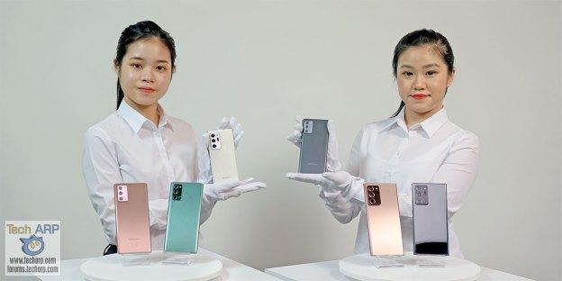 Samsung Galaxy Note20 | Note20 Ultra : Colour Comparison!