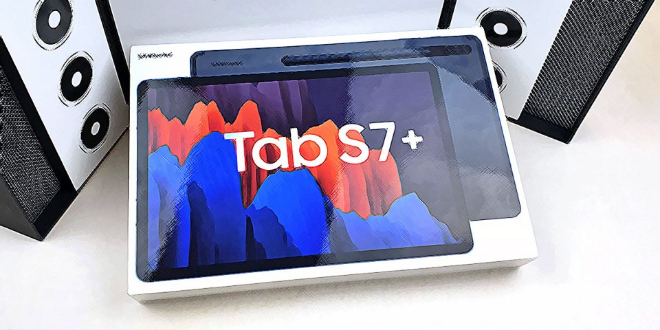Samsung Galaxy Tab S7 Plus : Hands-On Preview!