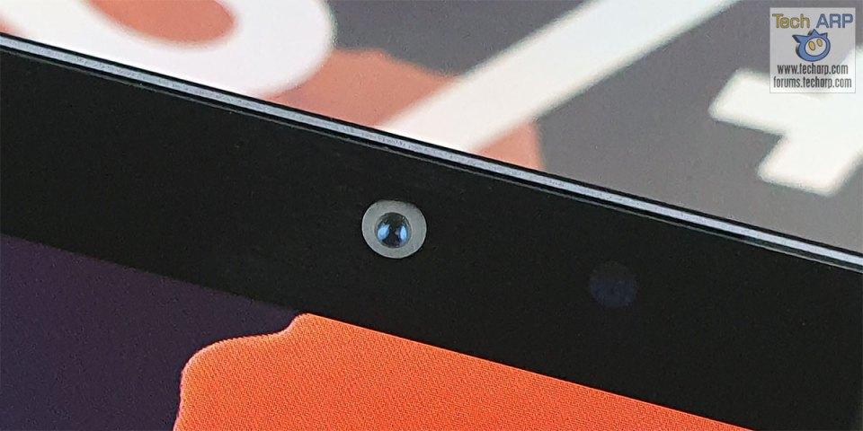 Samsung Galaxy Tab S7 Plus front camera