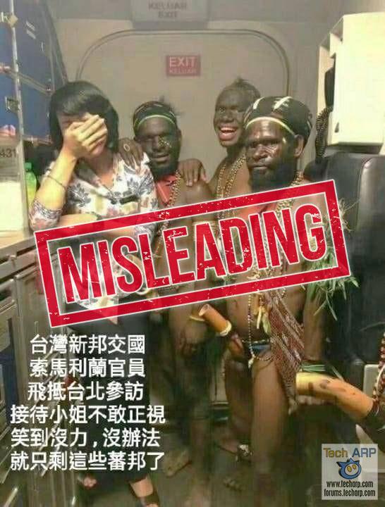 Fact Check: Somaliland Reps Wear Koteka To Taiwan Meeting!