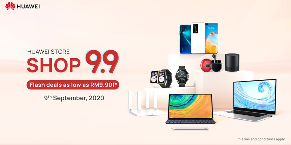 HUAWEI 9.9 Super Sale : The Full List Of Deals!