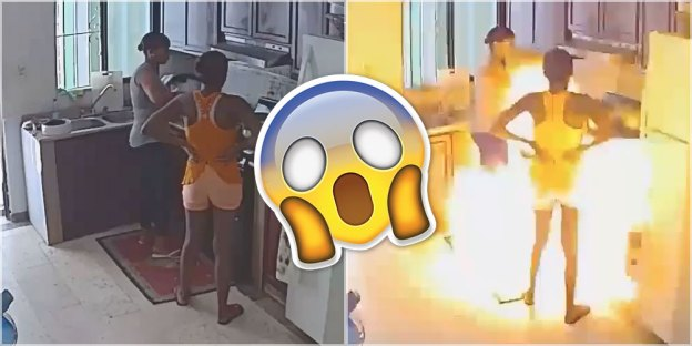 Did A Ringing Phone Cause This Gas Stove Explosion?