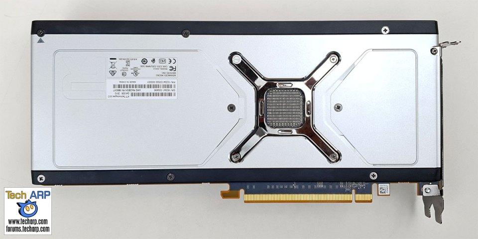 AMD Radeon RX 6800 XT back