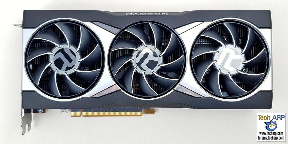 AMD Radeon RX 6800 XT front