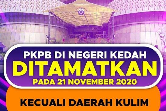 Kedah CMCO ends