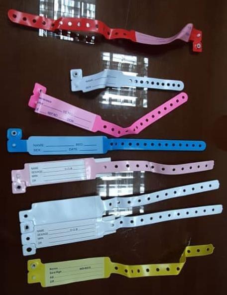 Malaysia COVID-19 bracelet colours