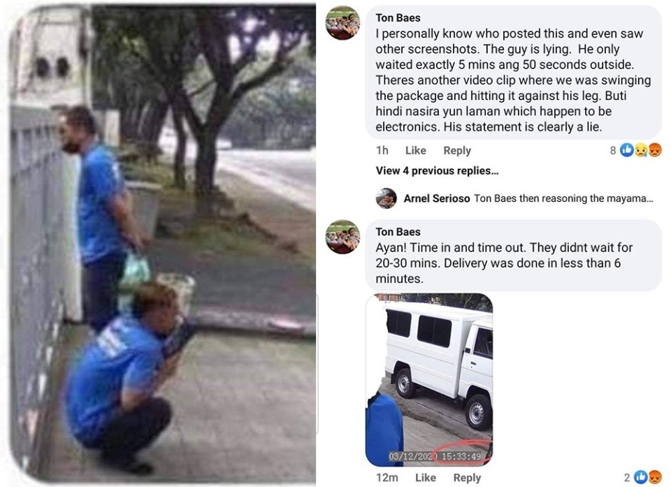 Fact Check : Lazada Delivery Guy Licking Package?