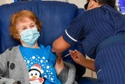 Is First Woman To Get COVID-19 Vaccine In Critical Condition?