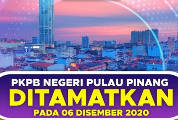 Penang CMCO Ends 6 December, Except For 2 Precincts!