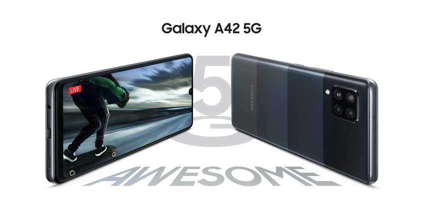 Samsung Galaxy A42 : Affordable 5G Smartphone!